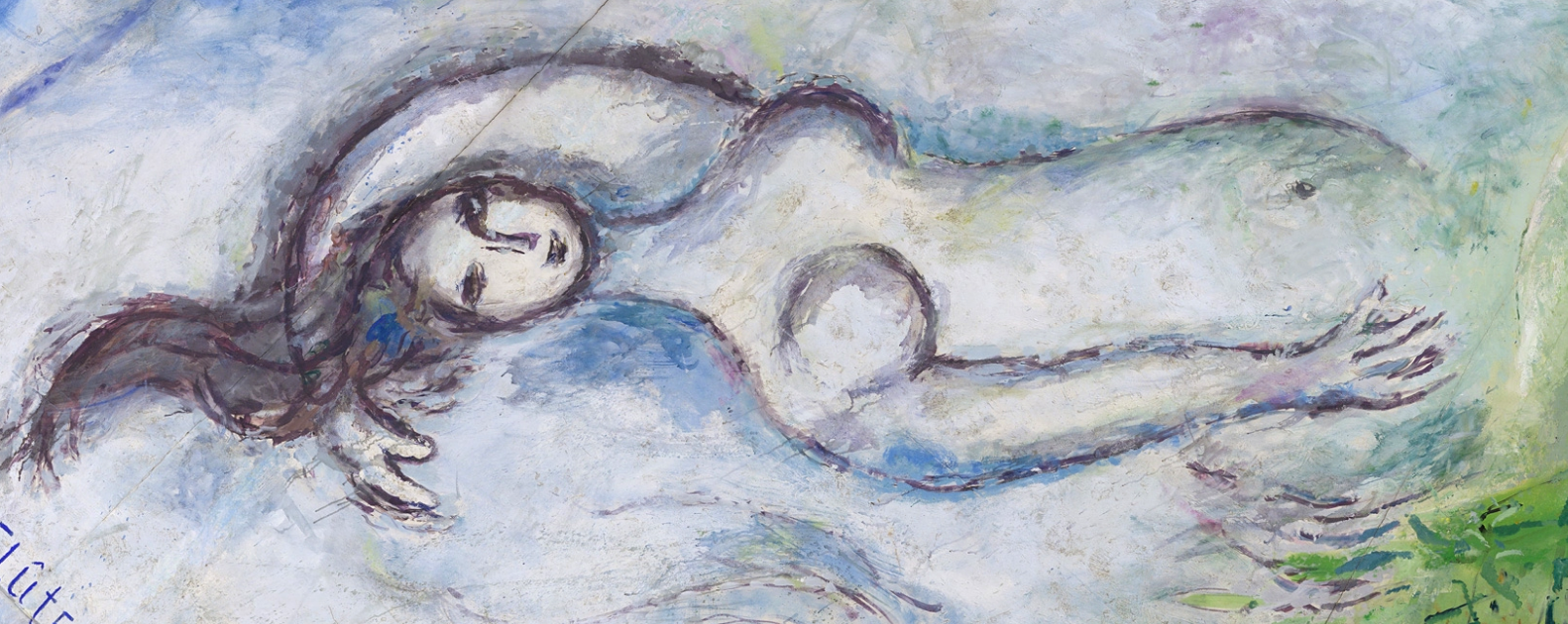 Chagall - Flute