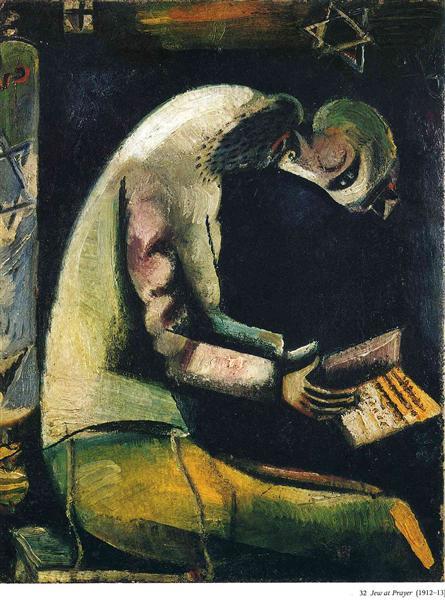 jew-at-prayer-1913.jpg!Large - Marc Chagall
